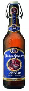 Hacker-Pschorr Anno 1417: excelente para pratos picantes.