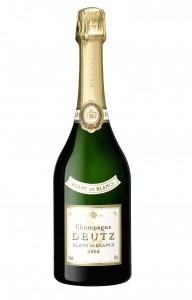 O premiado premiado champanhe Deutz, 90 pontos no Robert Parker.