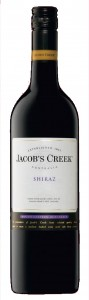 O australiano Jacob's Creek Shiraz.
