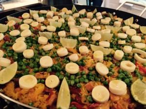 Paella com Carnes