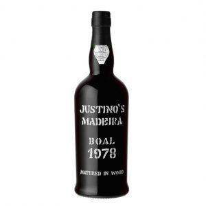 Vinho Madeira Justino's Boal
