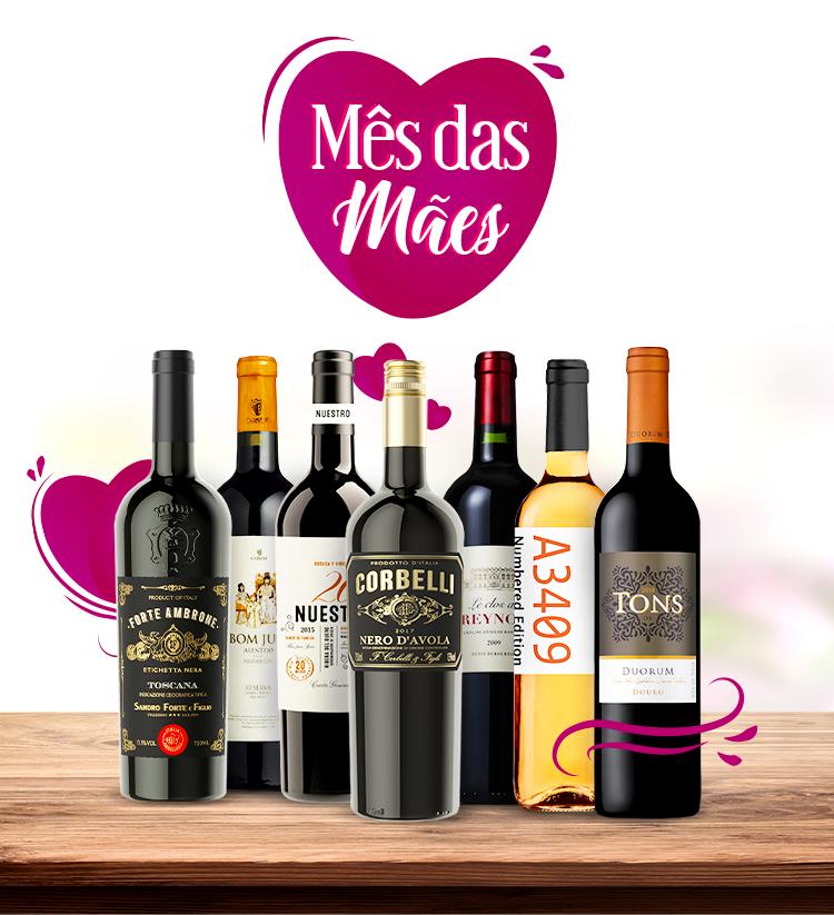 Dia das Mães com Vinho