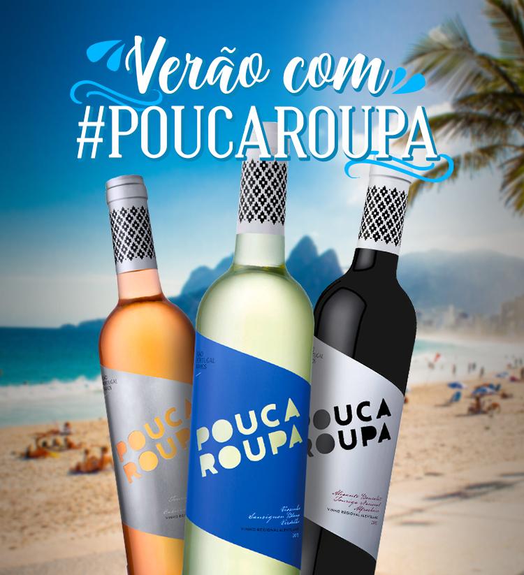 Verão com #PoucaRoupa