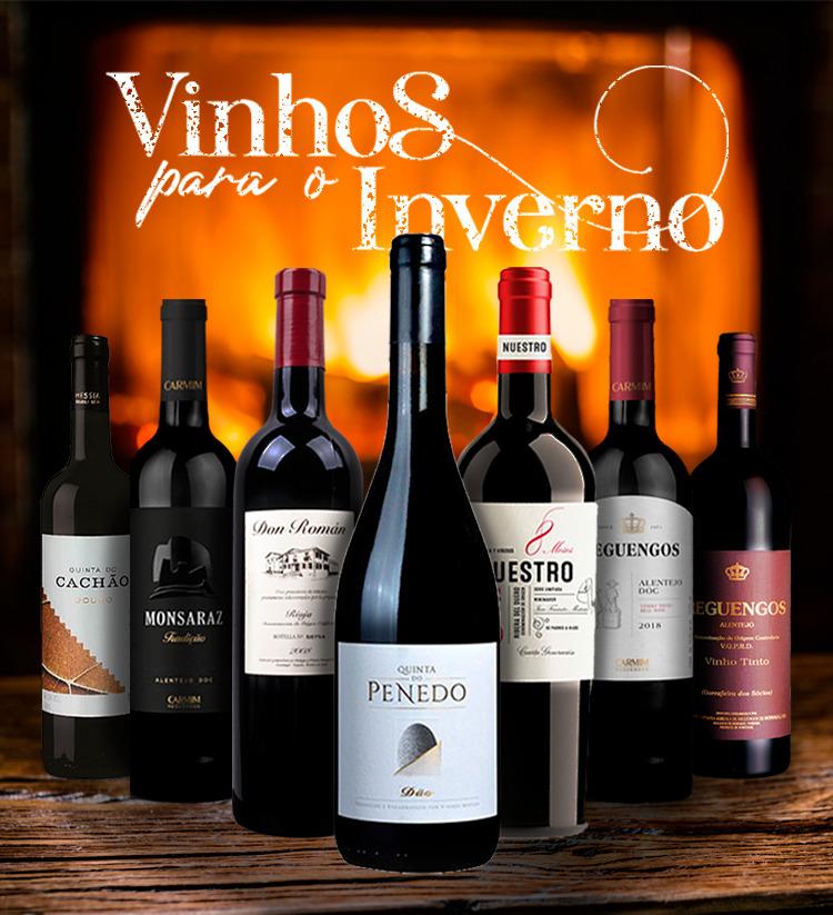 Vinhos tinto para o Outuno
