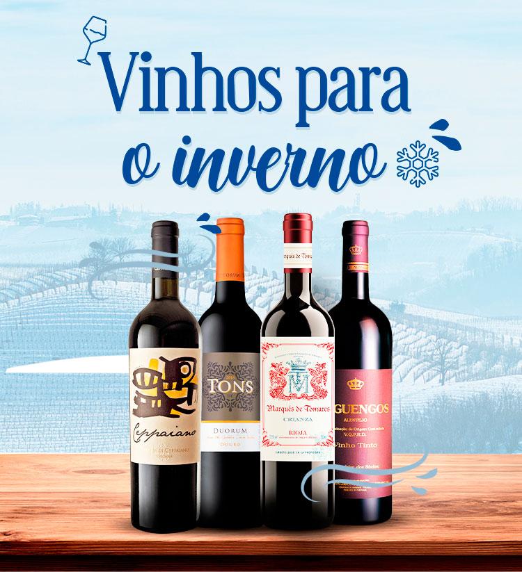 Opções de vinho para o inverno