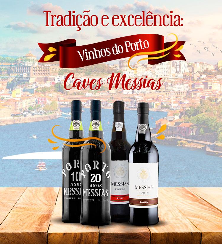 Tradição e excelência com os vinhos do Porto Caves Messias