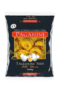 Tagliollini Nidi com ovos Paganini