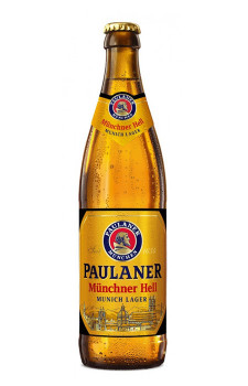 Cerveja Paulaner Müchner Hell