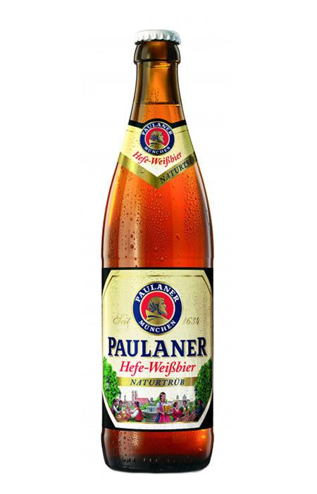 Cerveja Paulaner Hefe-Weissbier Naturtrüb