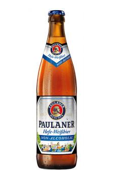Paulaner Hefe-Weissbier Alkoholfrei  (sem álcool)