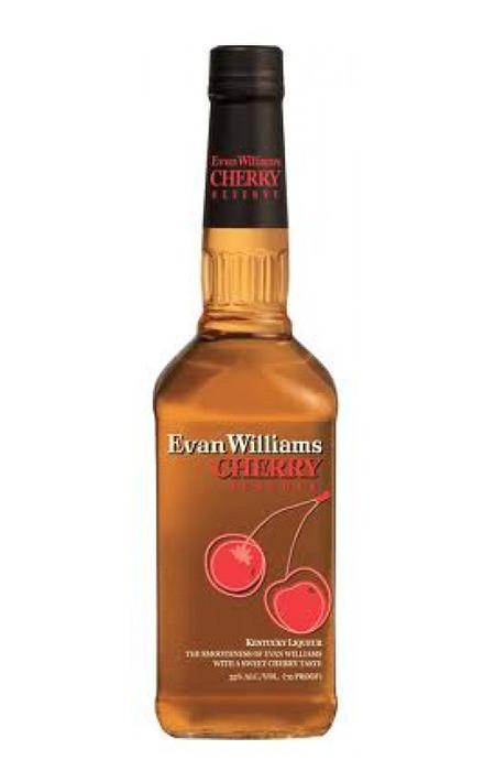 Evan Williams Cherry Reserve (Licor de Bourbon com Cereja)
