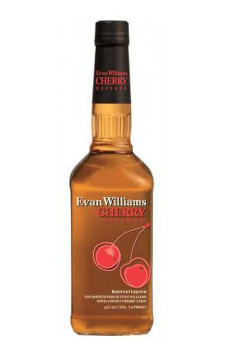 Evan Williams Cherry Reserve (Licor de Bourbon com Cereja)