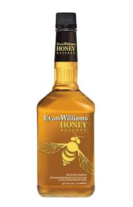 Evan Williams Honey Reserve (Licor de Bourbon com Mel)