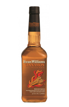 Evan Williams Cinnamon Reserve (Licor de Bourbon com Canela)