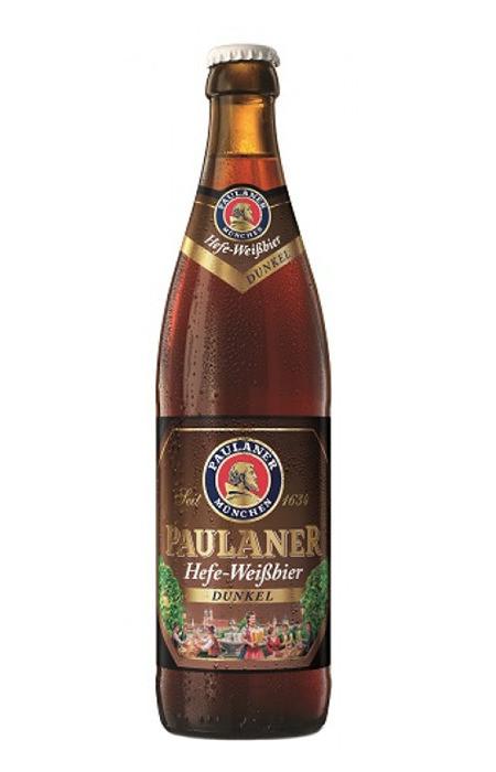 Cerveja Paulaner Hefe-Weissbier Dunkel
