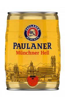 Cerveja Paulaner Müchner Hell (barril 5 litros)