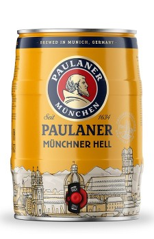 Paulaner Müchner Hell (barril 5 litros)