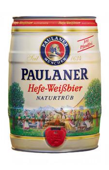 Paulaner Hefe-Weissbier Naturtrüb (barril 5 litros)
