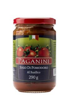 Molho de Tomate Al Basilico Paganini (manjericão)