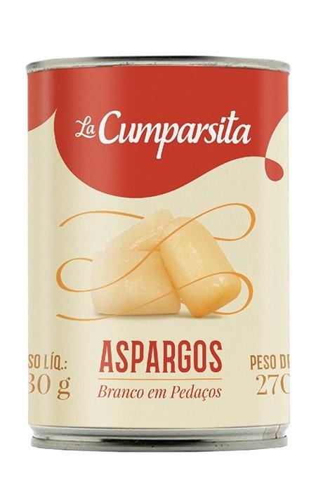 Aspargos em pedaços La Cumparsita