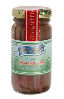 Filés de Anchova Realmar (em óleo)