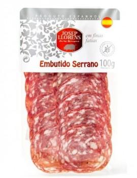 Salame Serrano fatiado
