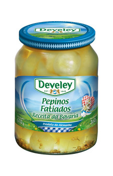 Pepinos Fatiados Develey