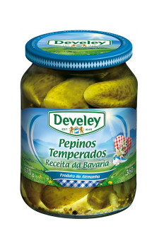 Pepinos Temperados Develey
