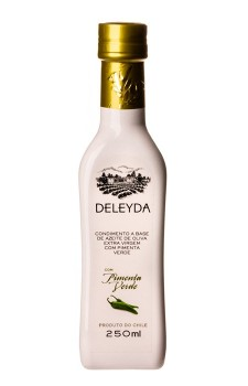 Azeite de Oliva Extravirgem Deleyda com Pimenta Verde