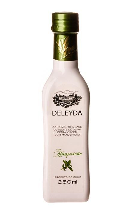 Azeite de Oliva Extravirgem Deleyda com Manjericão