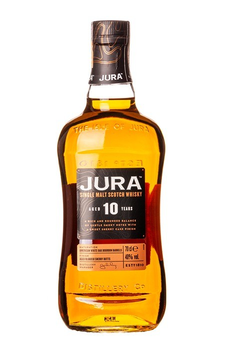 Jura 10 anos Single Malt Scotch