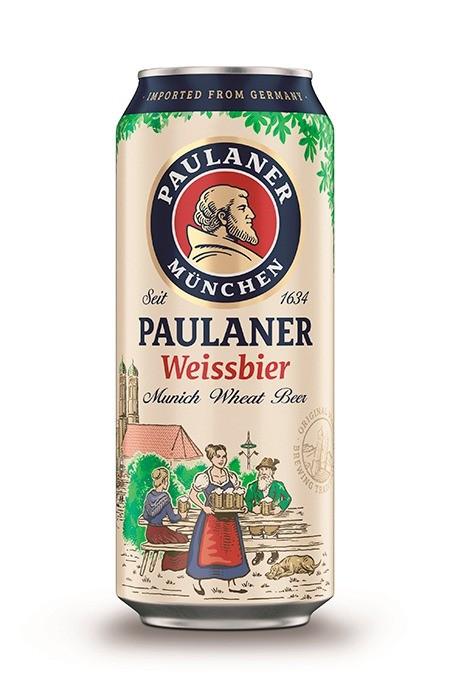 Cerveja Paulaner Weissbier lata