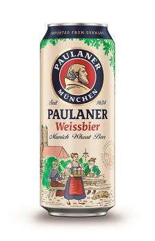 Paulaner Weissbier lata