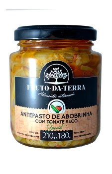 Antepasto de Abobrinha com Tomate Seco