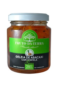 Geleia de Abacaxi com Hortelã