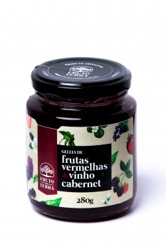 Geleia de Frutas Vermelhas com Vinho Cabernet