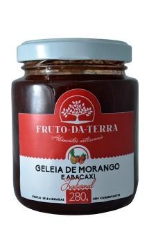 Geleia de Morango e Abacaxi