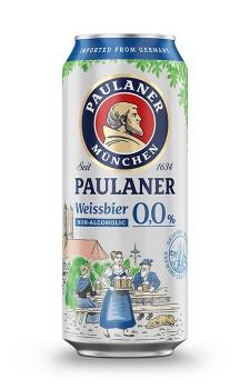Paulaner Weissbier Sem Álcool lata