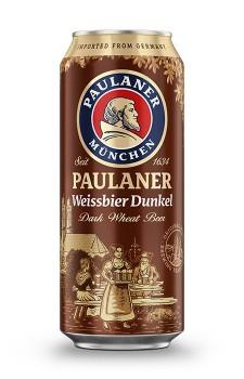 Paulaner WeissbierDunkel lata
